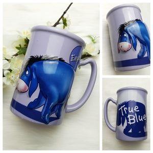 Eeyore True Blue 3-D Winnie The Pooh Disney Mug